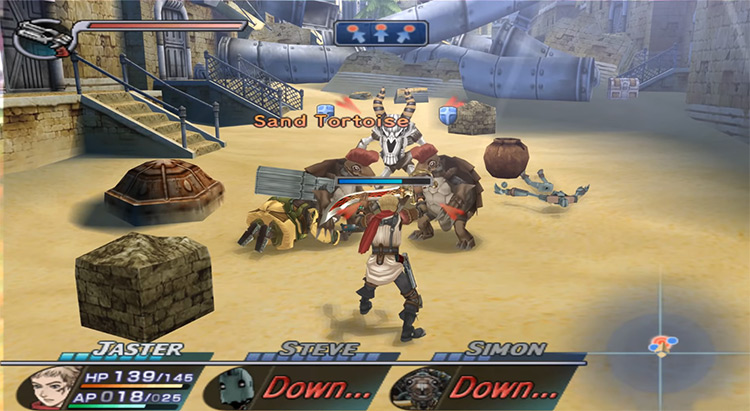 Rogue Galaxy gameplay screenshot