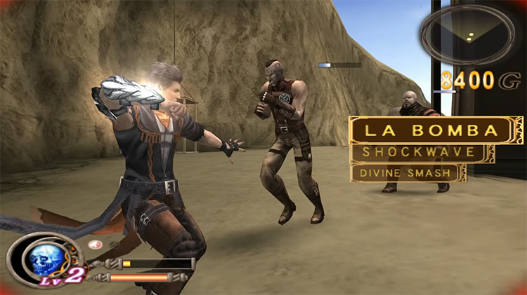 God Hand PS2 gameplay