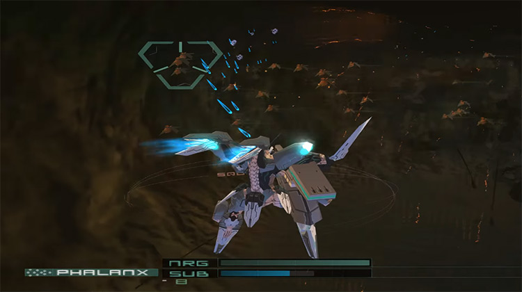 Zone of the Enders: The 2nd Runner gameplay