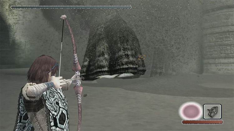 Shadow of the Colossus gameplay on PS2
