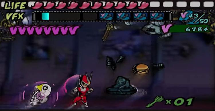 Viewtiful Joe 2 PS2 screenshot