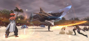 Tchakka battle screenshot from FFXI HD