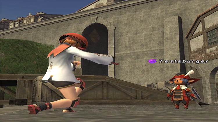 Geomancer HD cutscene in FFXI