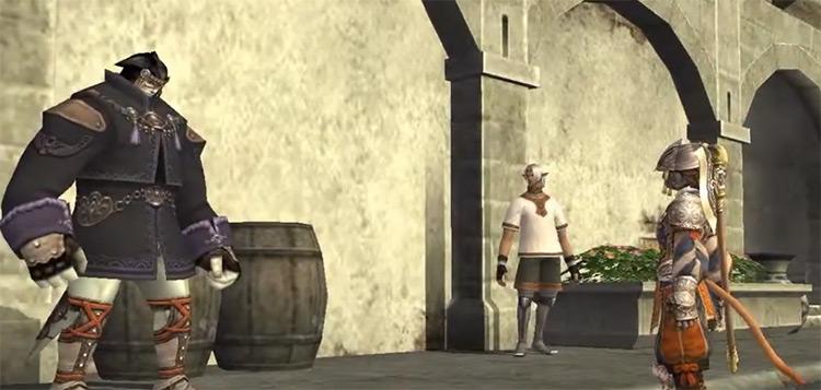 Records of Eminence cutscene screenshot from FFXI