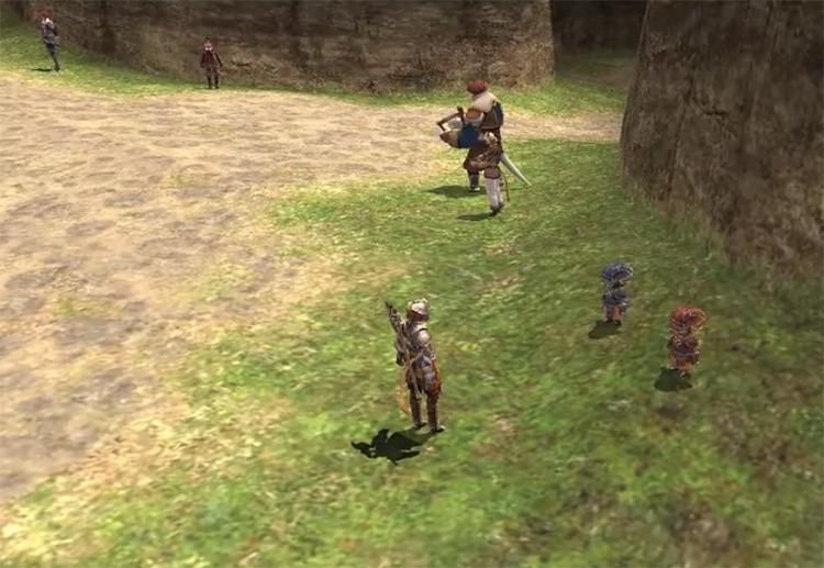 Unity Concord cutscene screenshot from FFXI