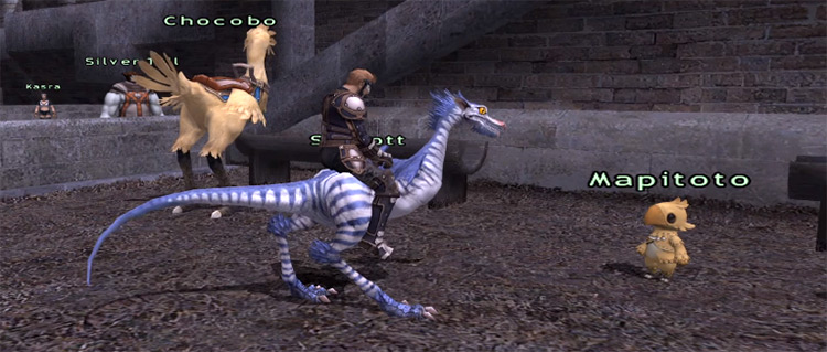 Full Speed Ahead quest preview in FFXI