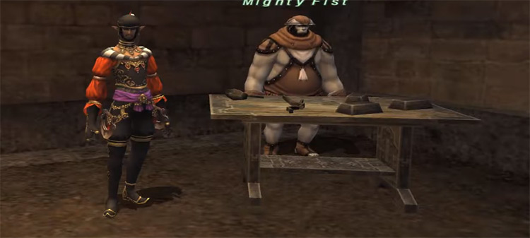 Gobbiebag Quest I screenshot from FFXI