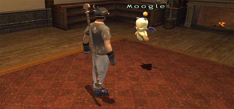 Give a Moogle a Break close-up screenshot in FFXI