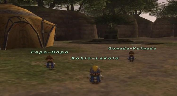 The Rivalry questline in FFXI