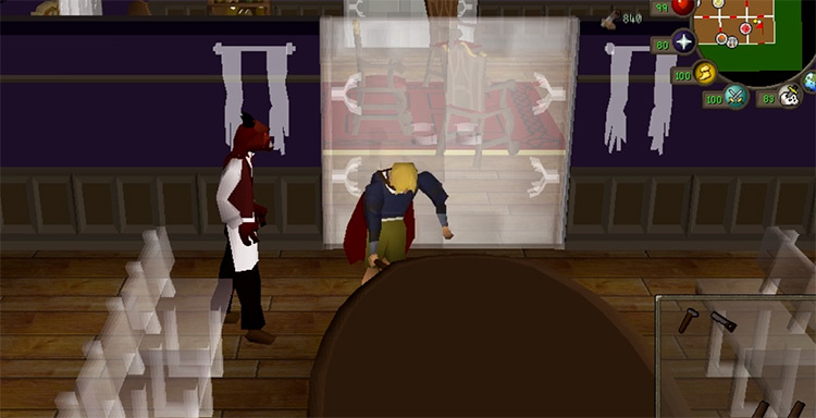 Building a mahogany table in OSRS