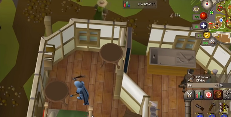 Mahogany home repair construction training in OSRS