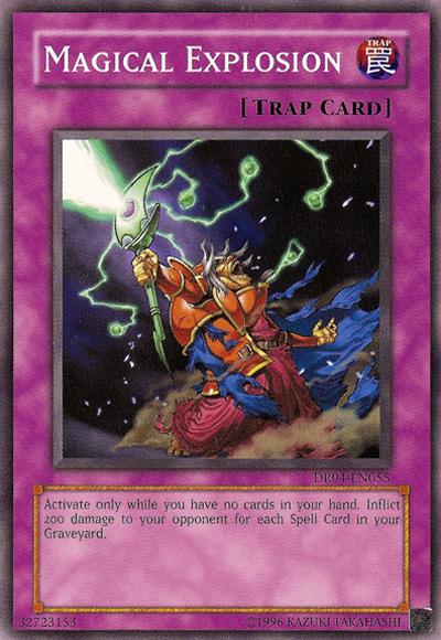 Magical Explosion Yu-Gi-Oh Card