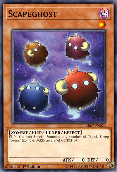 Scapeghost Yu-Gi-Oh Card