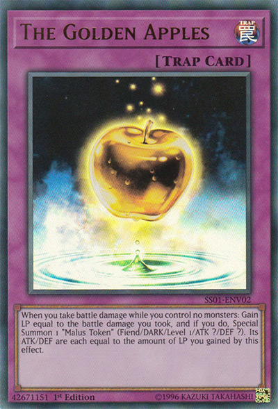 The Golden Apples YGO Card
