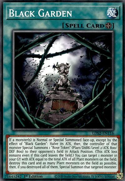 Black Garden Yu-Gi-Oh Card