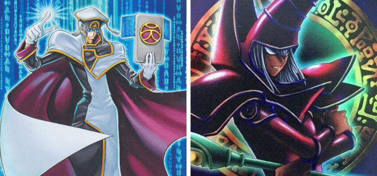 T.G. Hyper Librarian & P4-02 Dark Magician YGO