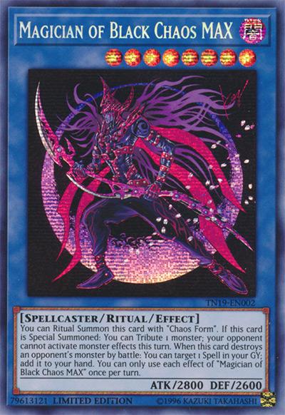 Magician of Black Chaos MAX YGO Card