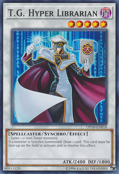 T.G. Hyper Librarian Yu-Gi-Oh Card