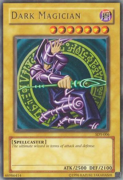 Dark Magician Yu-Gi-Oh Card