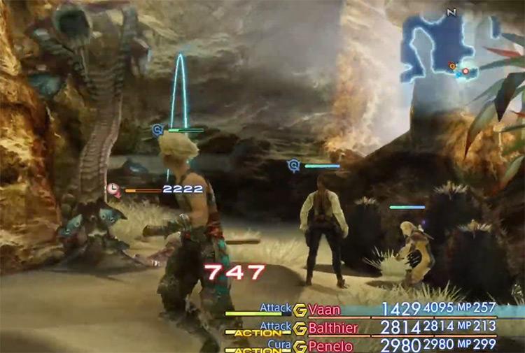 Marilith FFXII HD screenshot