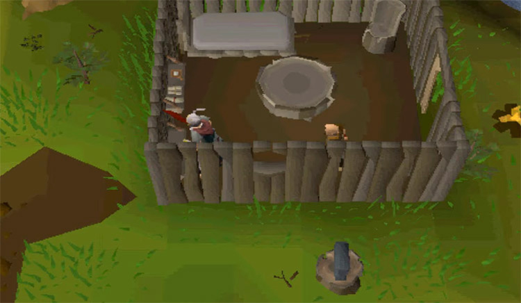 Otto's Grotto Anvil in OSRS