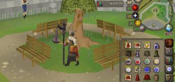 Fire character build in Old School RuneScape