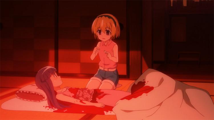 Higurashi (When They Cry) anime screenshot