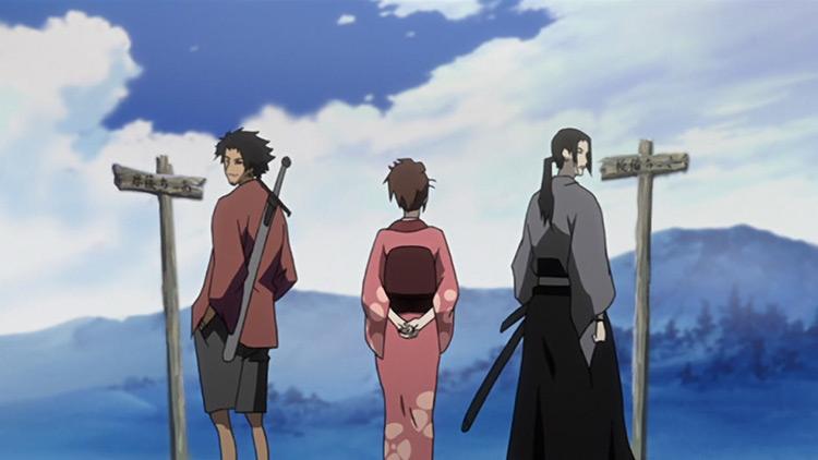 Samurai Champloo anime screenshot