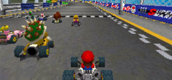 Mario Kart DS starting race screenshot