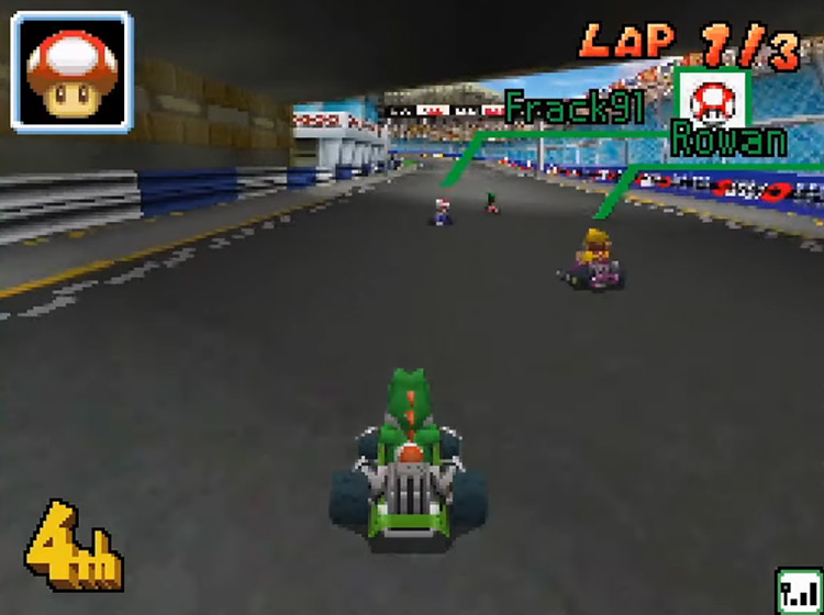 Mario Kart DS game screenshot