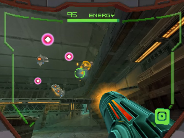Metroid Prime Hunters gameplay