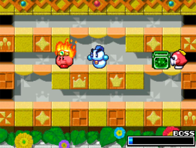 Kirby Super Star Ultra gameplay