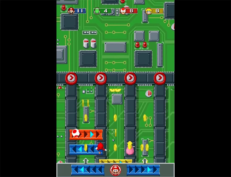 Mario Party DS game screenshot