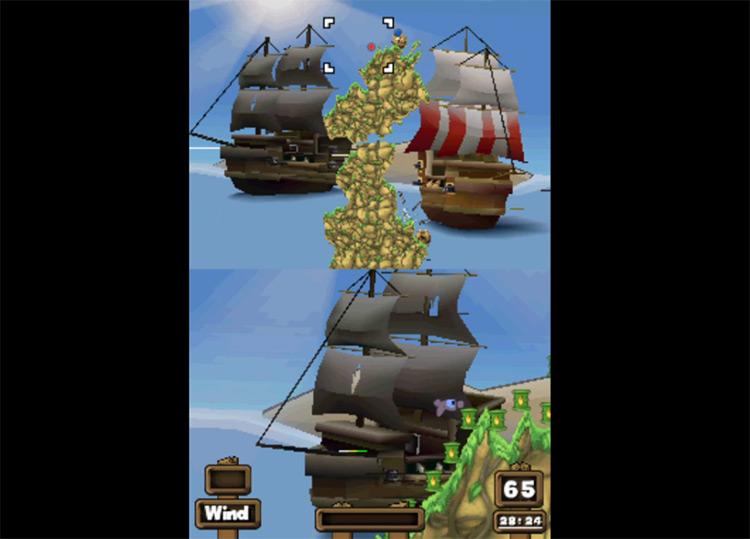 Worms: Open Warfare 2 gameplay