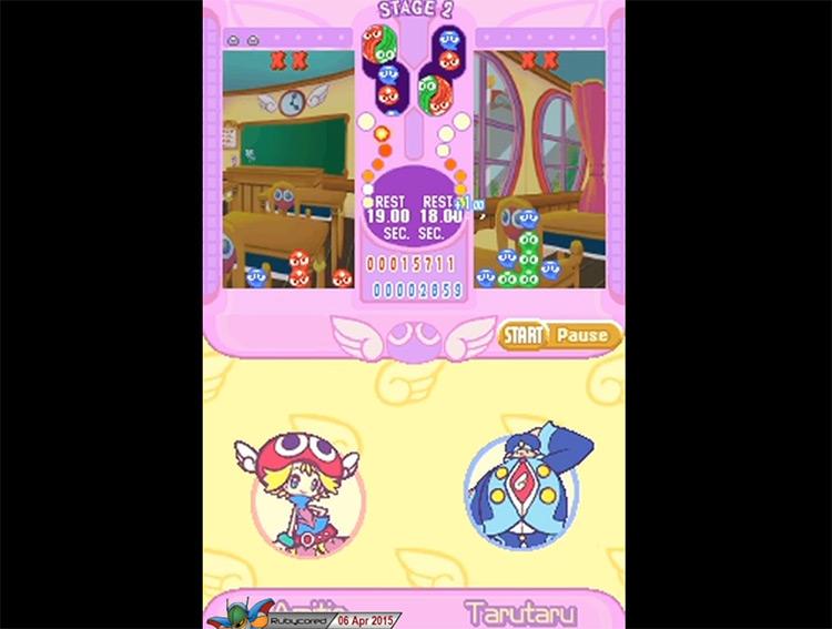 Puyo Pop Fever gameplay screenshot