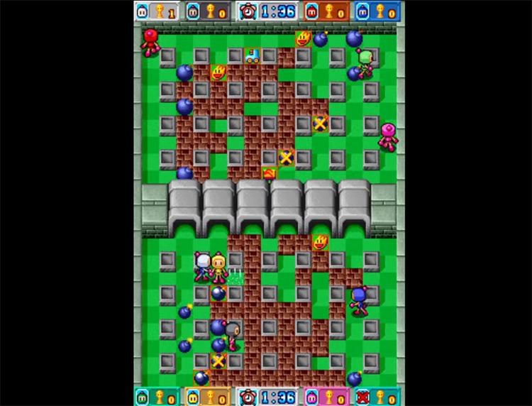 Bomberman Land Touch! game screenshot