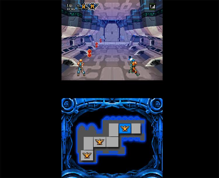 Contra 4 gameplay screenshot