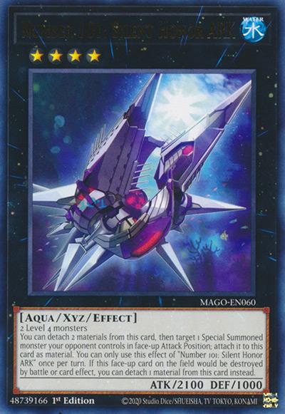 Number 101: Silent Honor Ark Yu-Gi-Oh Card