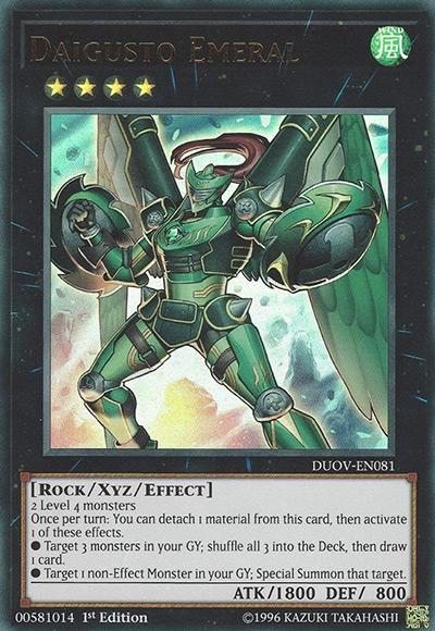 Daigusto Emeral Yu-Gi-Oh Card