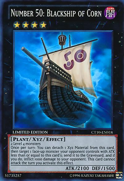 Number 50: Blackship of Corn YGO Card