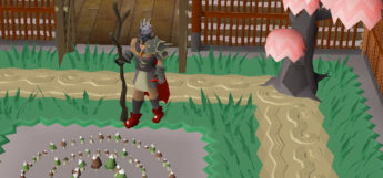 Fairy ring with Slayer Staff in OSRS