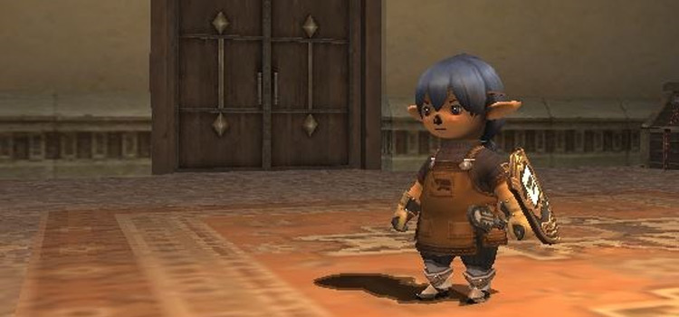 Smithing character build in FFXI