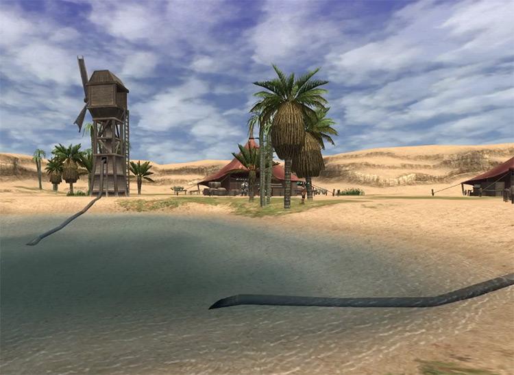 Rabao outdoors HD screenshot / FFXI