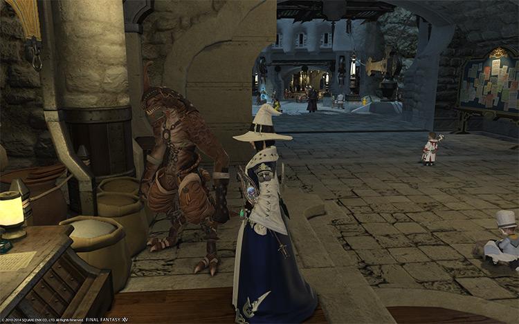Limsa character screenshot in FFXIV