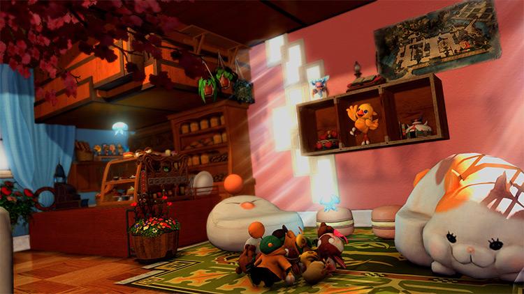 Interior custom cottage bakery in FFXIV
