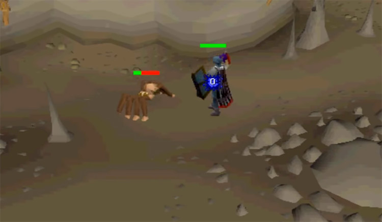 Battle with Experiment creature / OSRS