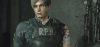 Leon Scott Kennedy in Resident Evil 2 Remake