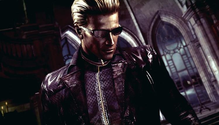 Albert Wesker Resident Evil 5 screenshot