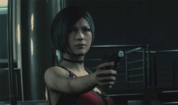 Ada Wong in Resident Evil 2 Remake