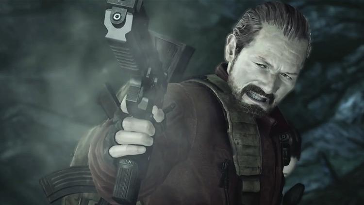 Barry Burton in Resident Evil: Revelations 2